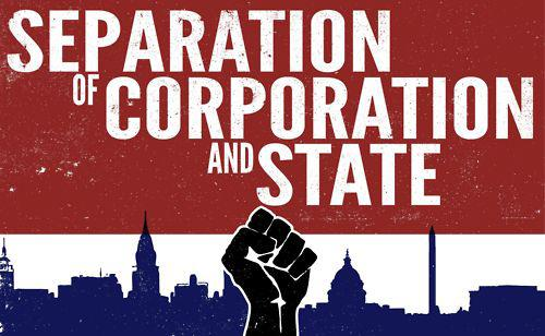 separation of corporation and state