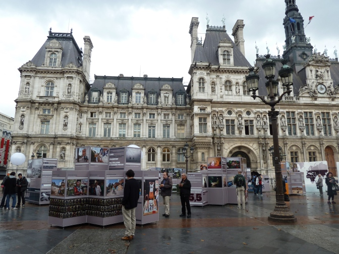 """A New Perspective on the South"" exhibit at Hotel de Ville in Paris. Photo by author."